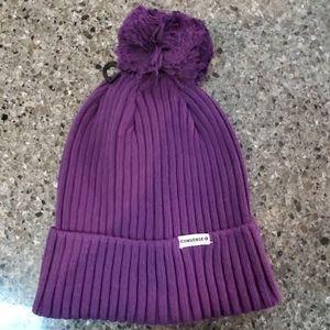 Converse Women's Beanie Purple One Size NEW